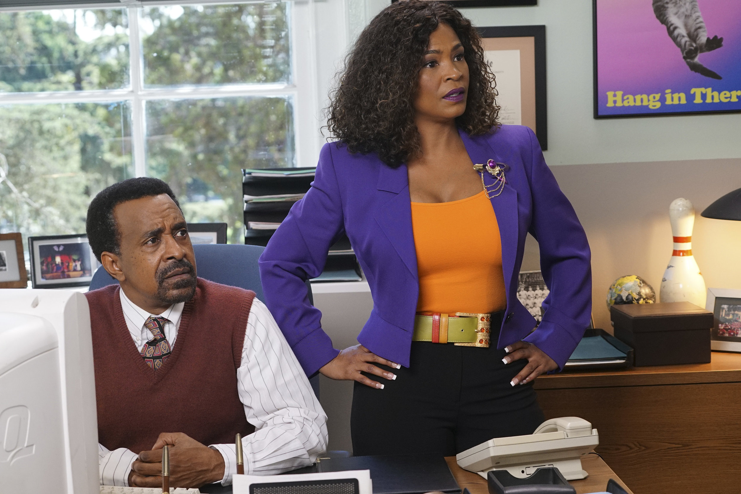 Tim and Nia Long on, The Goldbergs: 1990-Something Spinoff