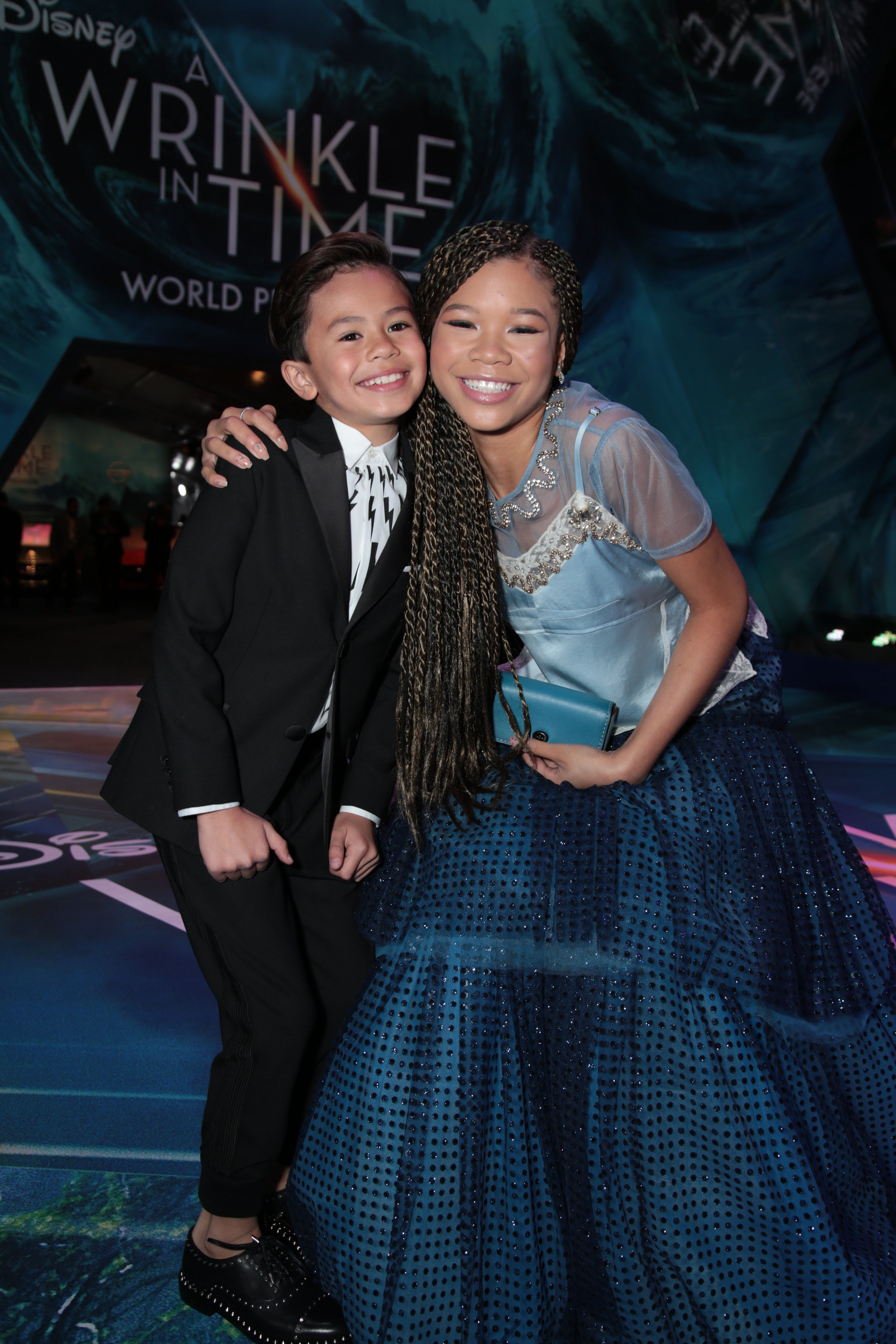 Deric and co-star Storm Reid