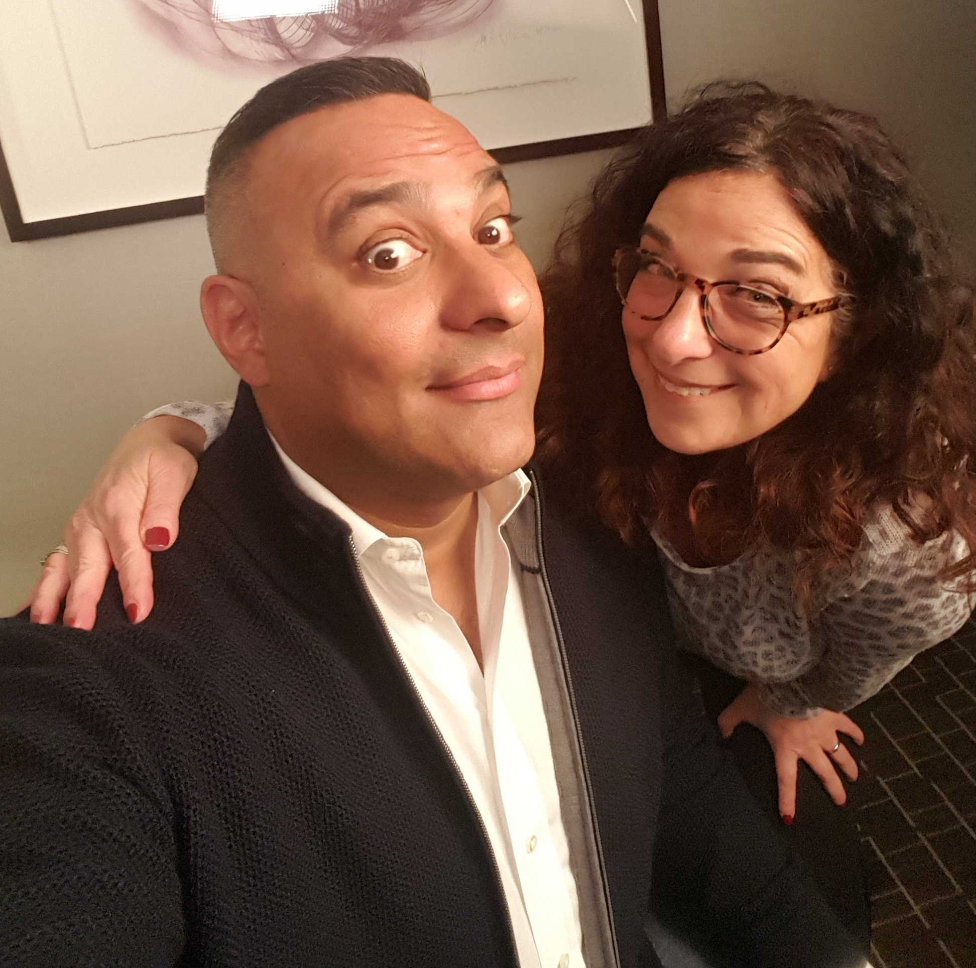 Hanging out with Russell Peters in Toronto