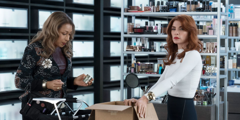 "Tamara Tunie and Julianna Margolis in, ""Dietland"""