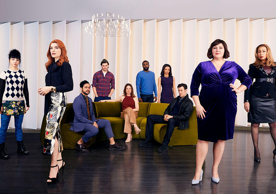 "The cast of ""Dietland"""