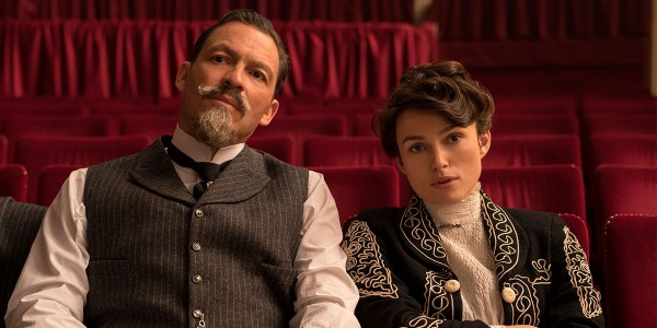 Keira Knightley and Dominic West in, Colette