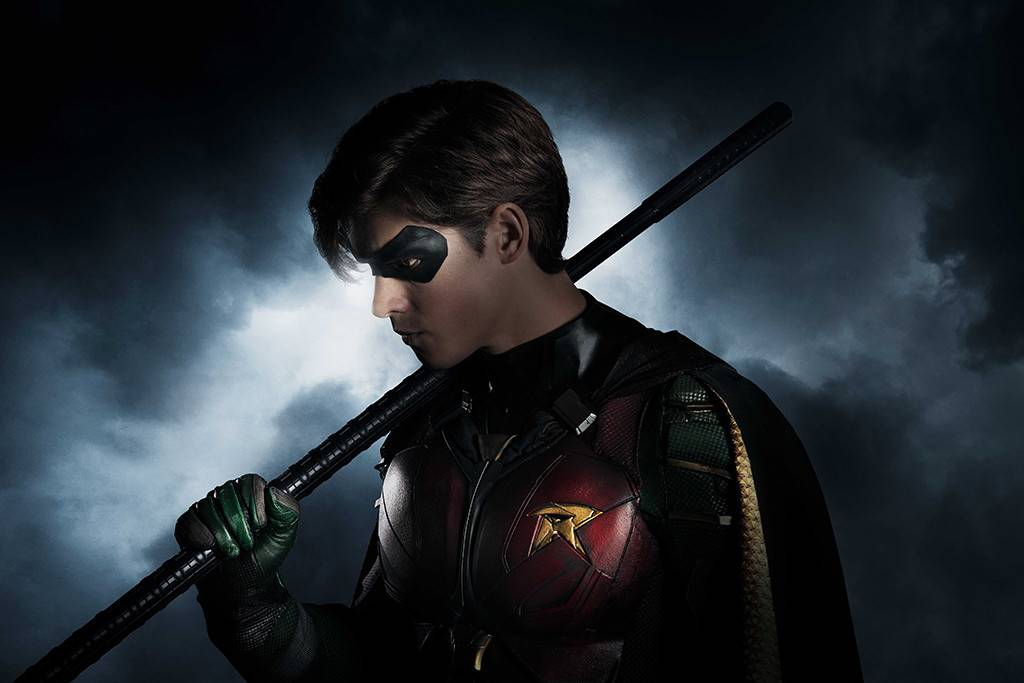"Brendan Thwaites as ""Robin"" in, Titans."
