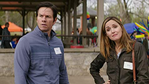"Mark Wahlberg and Rose Byrne in, ""Instant Family"""