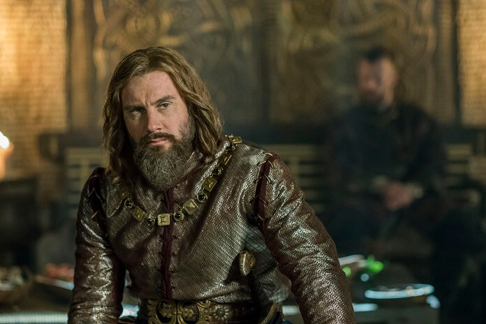"Clive Standen as ""Rollo"" in VIKINGS"