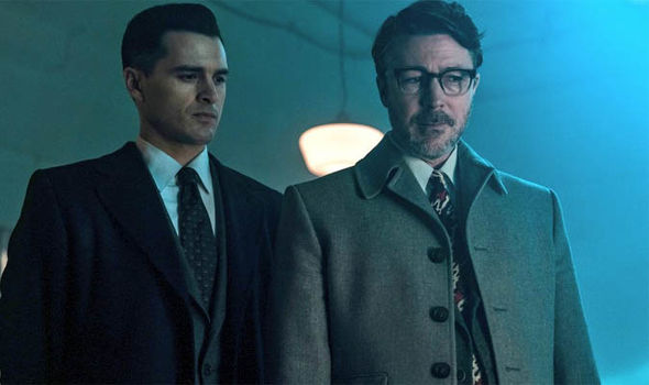 Michael Malarkey and Aidan Gillen star in, Project Blue Book