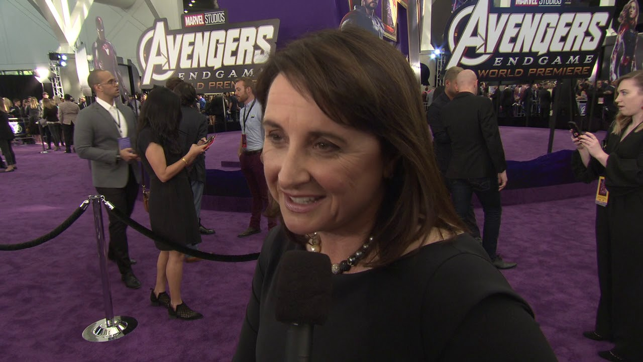 Victoria Alonso at Avengers:Endgame Premiere