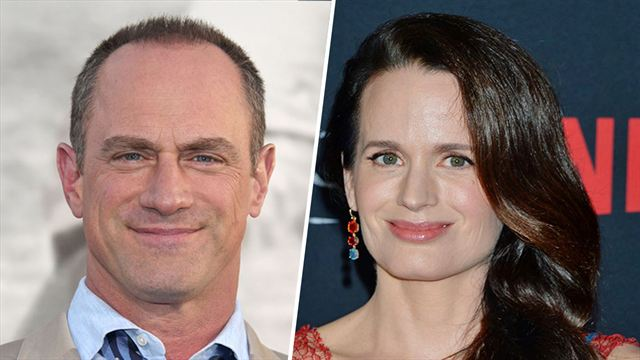 Christopher Meloni and Elizabeth Reaser - The Handmaid's Tale
