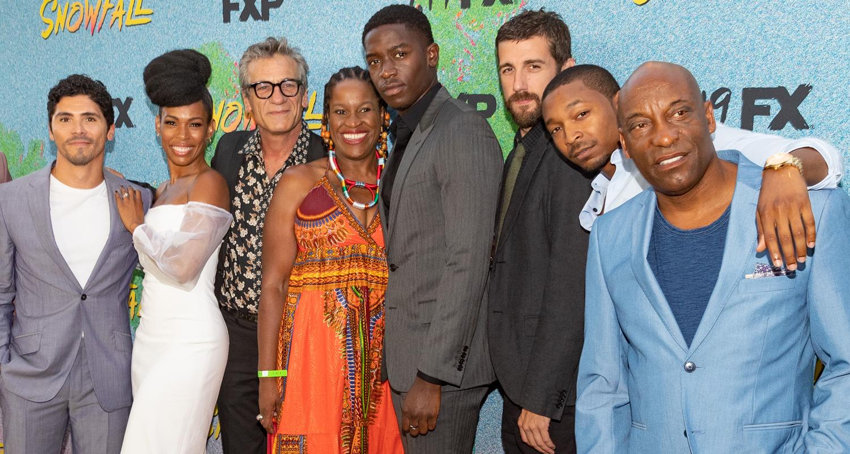 Damson Idris & 'Snowfall' Cast