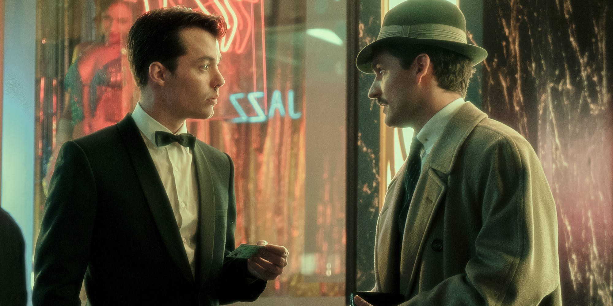JackBannon and Ben Aldridge in, Pennyworth