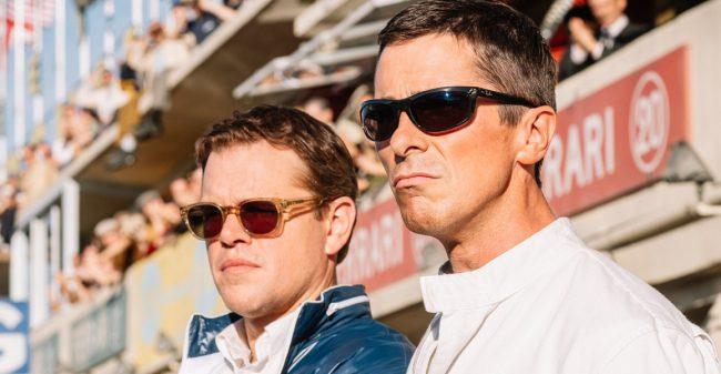 Matt Damon and Christian Bale in, Ford VS Ferrari
