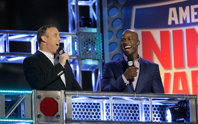 American Ninja Warrior - Hosts, Matt Iseman and Akbar Gbajabiamila