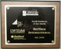 BizTrek Small Business Award