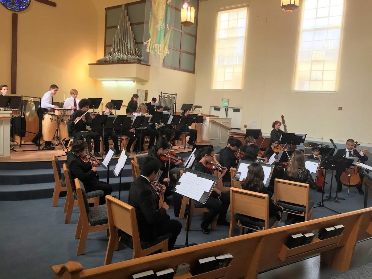2014 YOSAC and Conductor Heidi Dahms perfoming at Eden United Church of Christ , Hayward California.