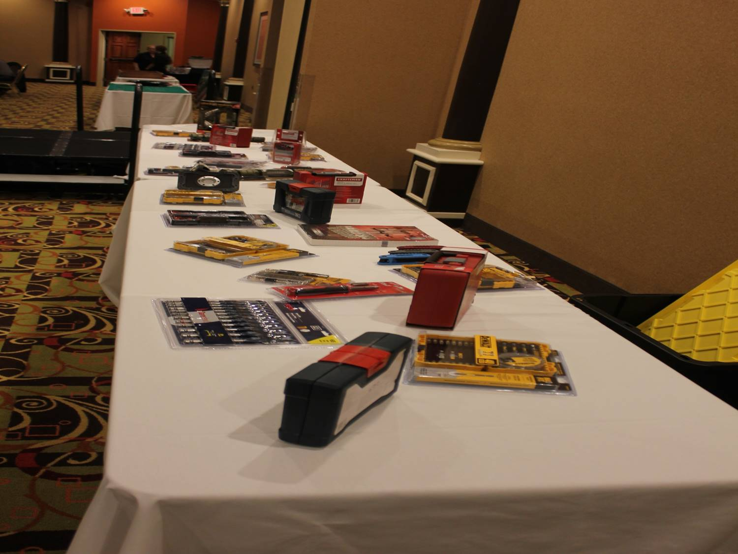 Every year we get really nice door prizes and we want to thank the folks from Echo Electric Supply, Norfolk, Winlectric in Lincoln, Northeast Community College in Norfolk, Husker Electric in Lincoln and to the many vendors at the meeting bring good door prizes to the event. Thank you Very Much!