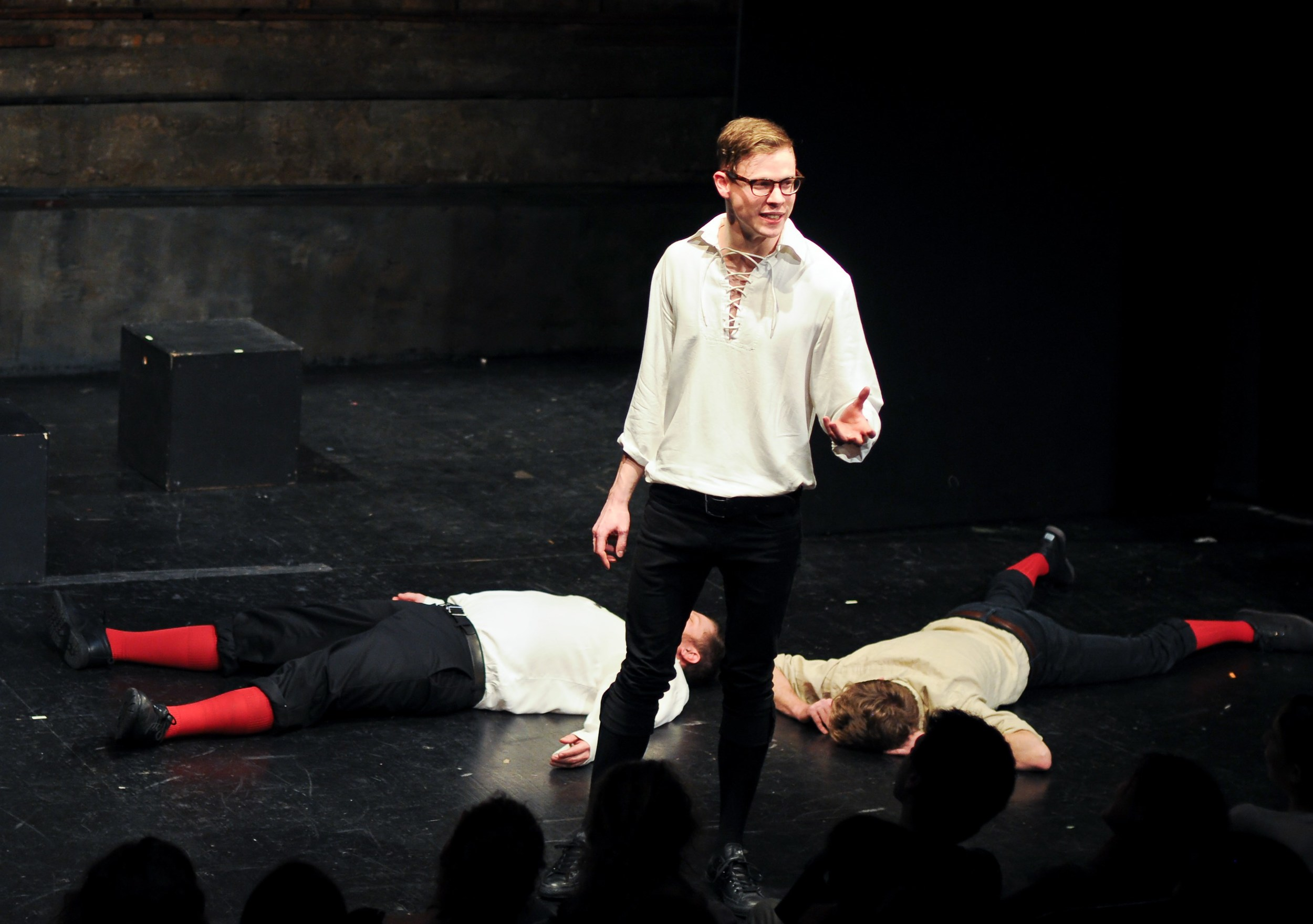 Picture of Improvised Shakespeare. Photo Credit Ari Scott