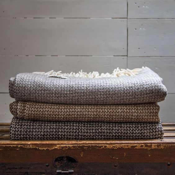 a lovely blanket to go with Petrel furnitures woven bench