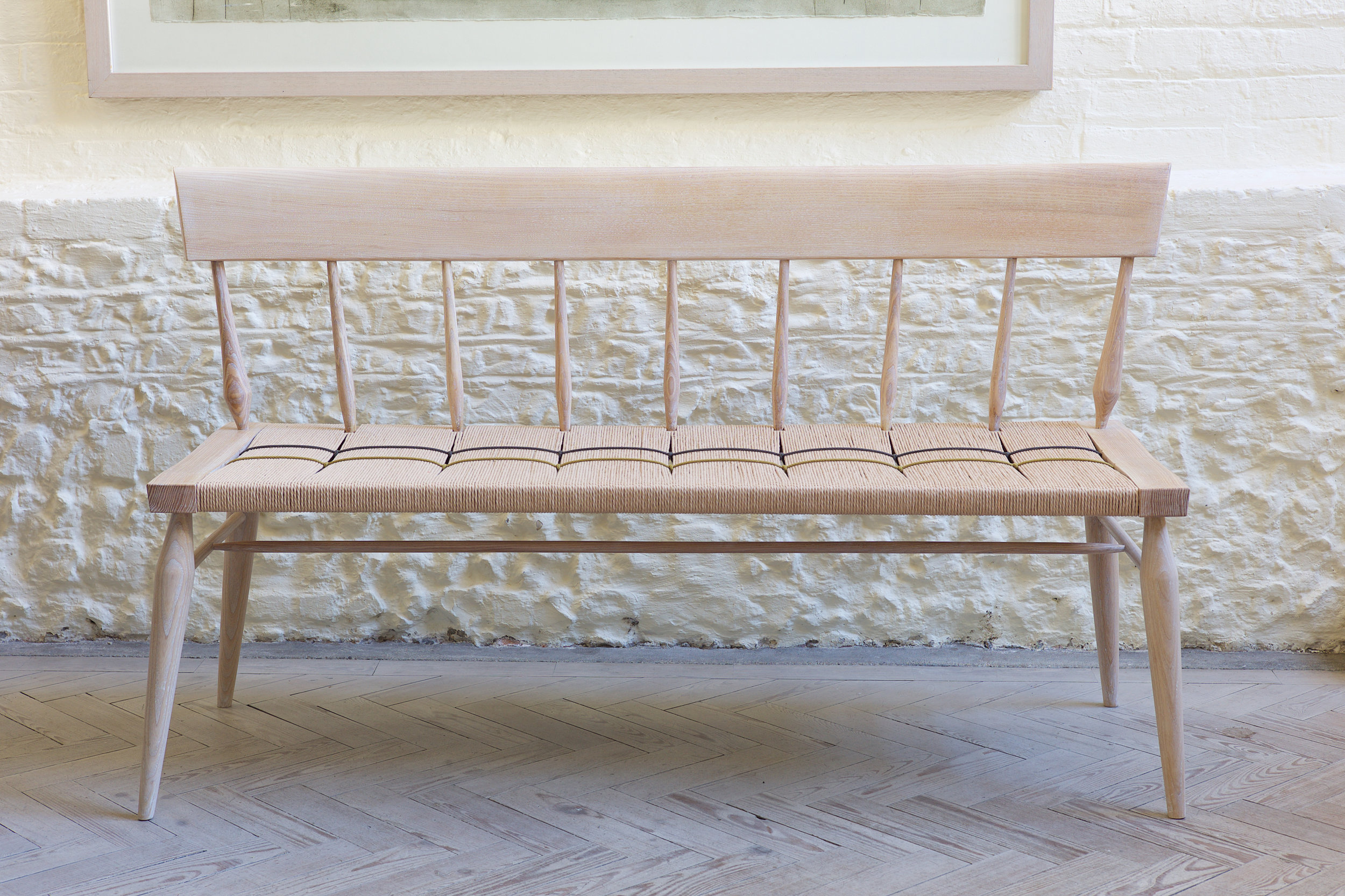 Petrel furniture woven bench
