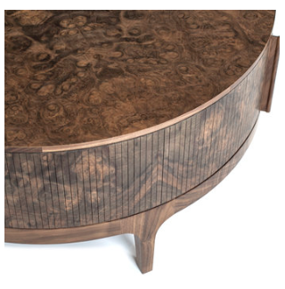 Poritz tambour detail