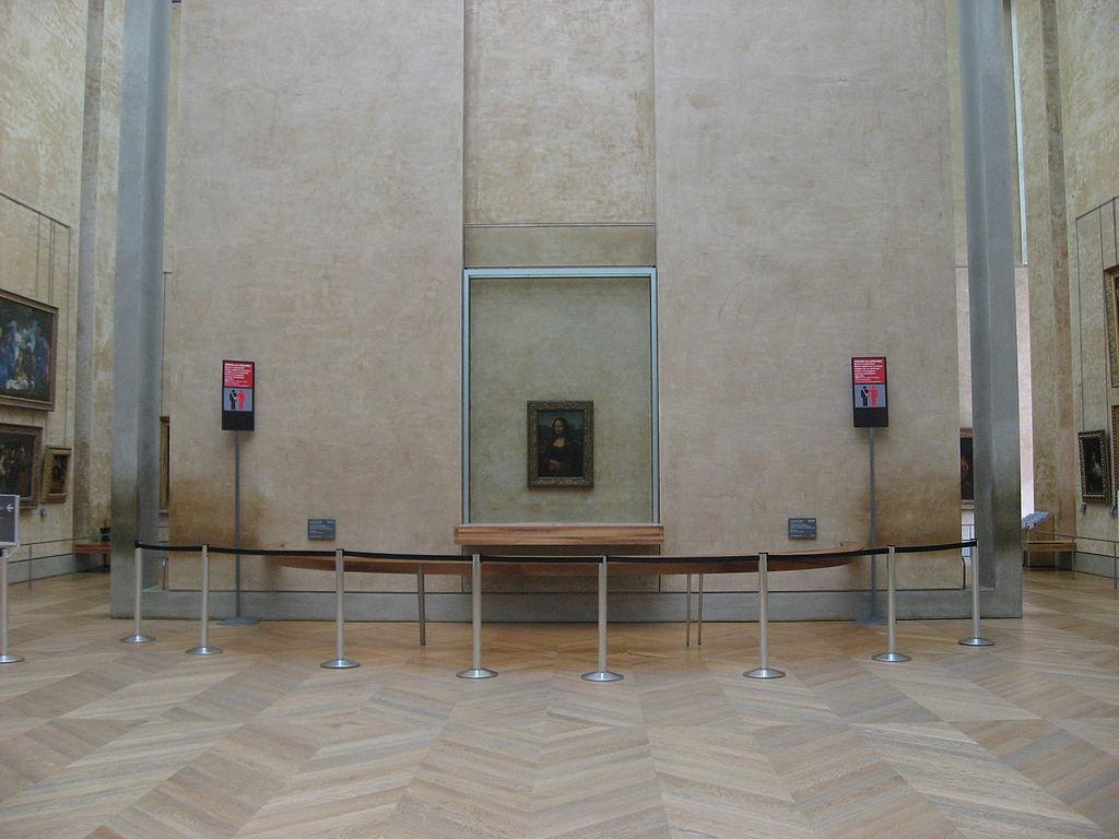 Mona Lisa  in situ