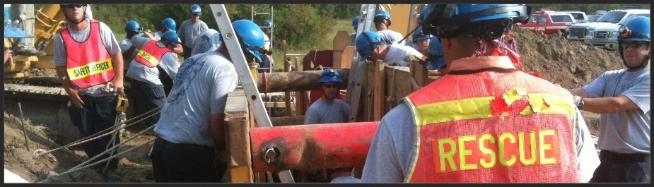 OSHA trench training, trench collapse operations, trench technician