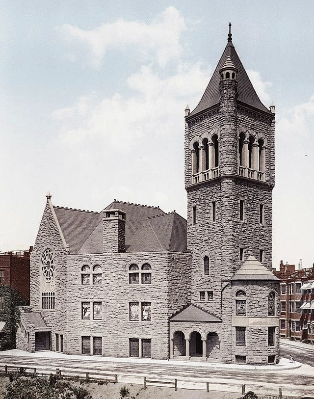 The First Church of Christ, Scientist, in Boston, MA (ca. 1894)
