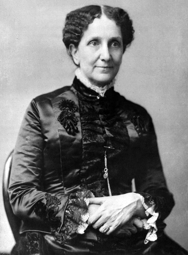 Mary Baker Eddy. (April 9, 1886)