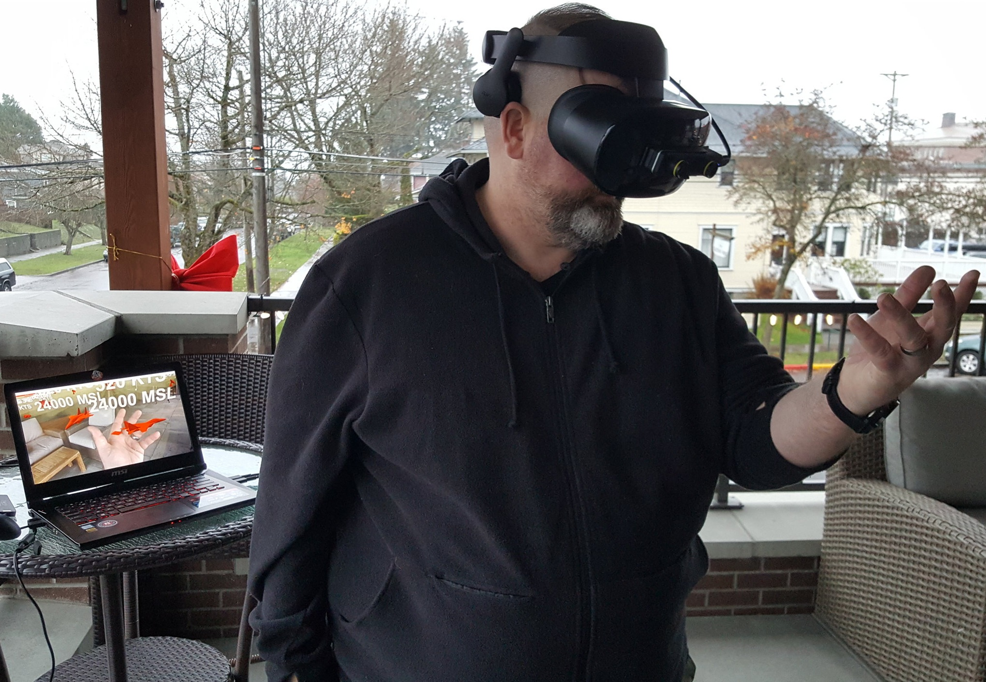 Interacting with the battlespace using an Augmented Reality solution, 2018