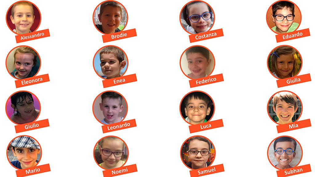 I bambini del Mirrorable Camp