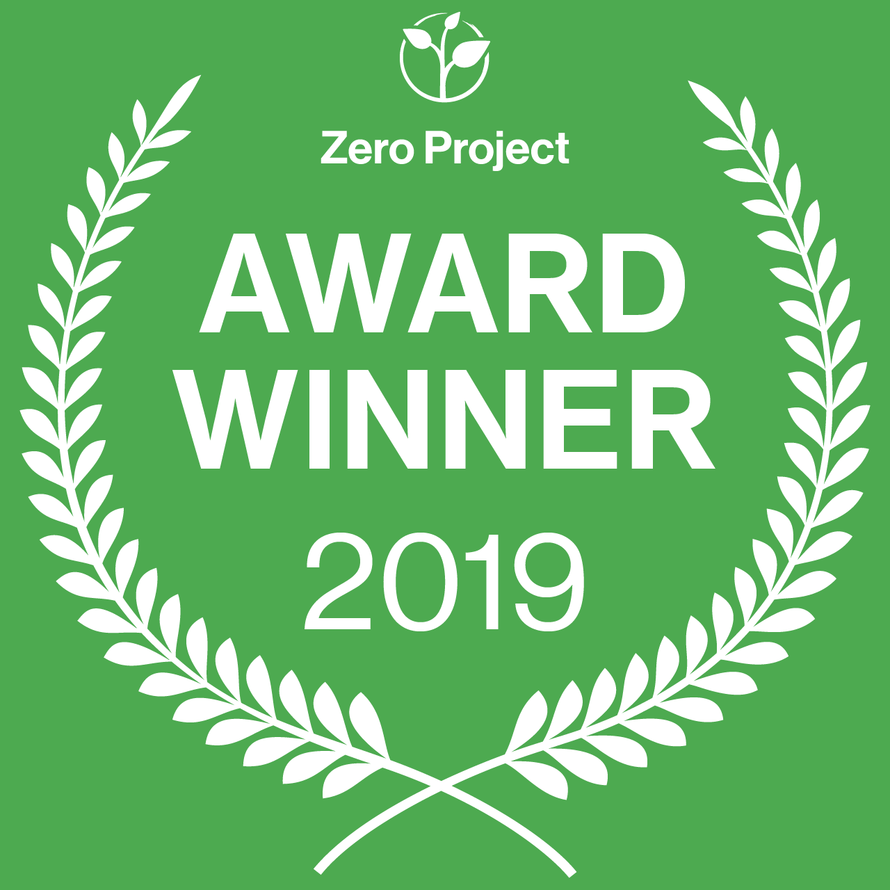 ZeroProject Award Winner