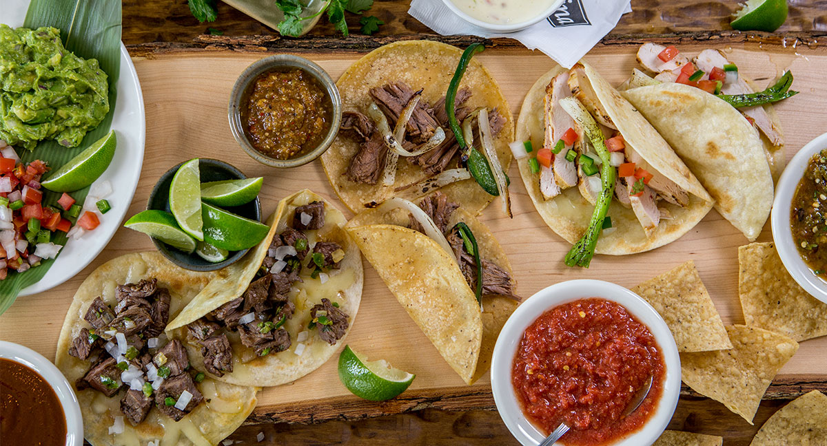 This isn't a staged photo, their food really looks like this! -Image credit Mi Cocina