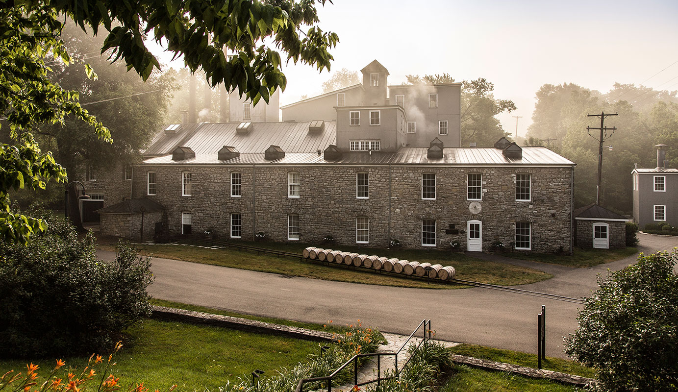 The Woodford Reserve distillery,built in the 1800's