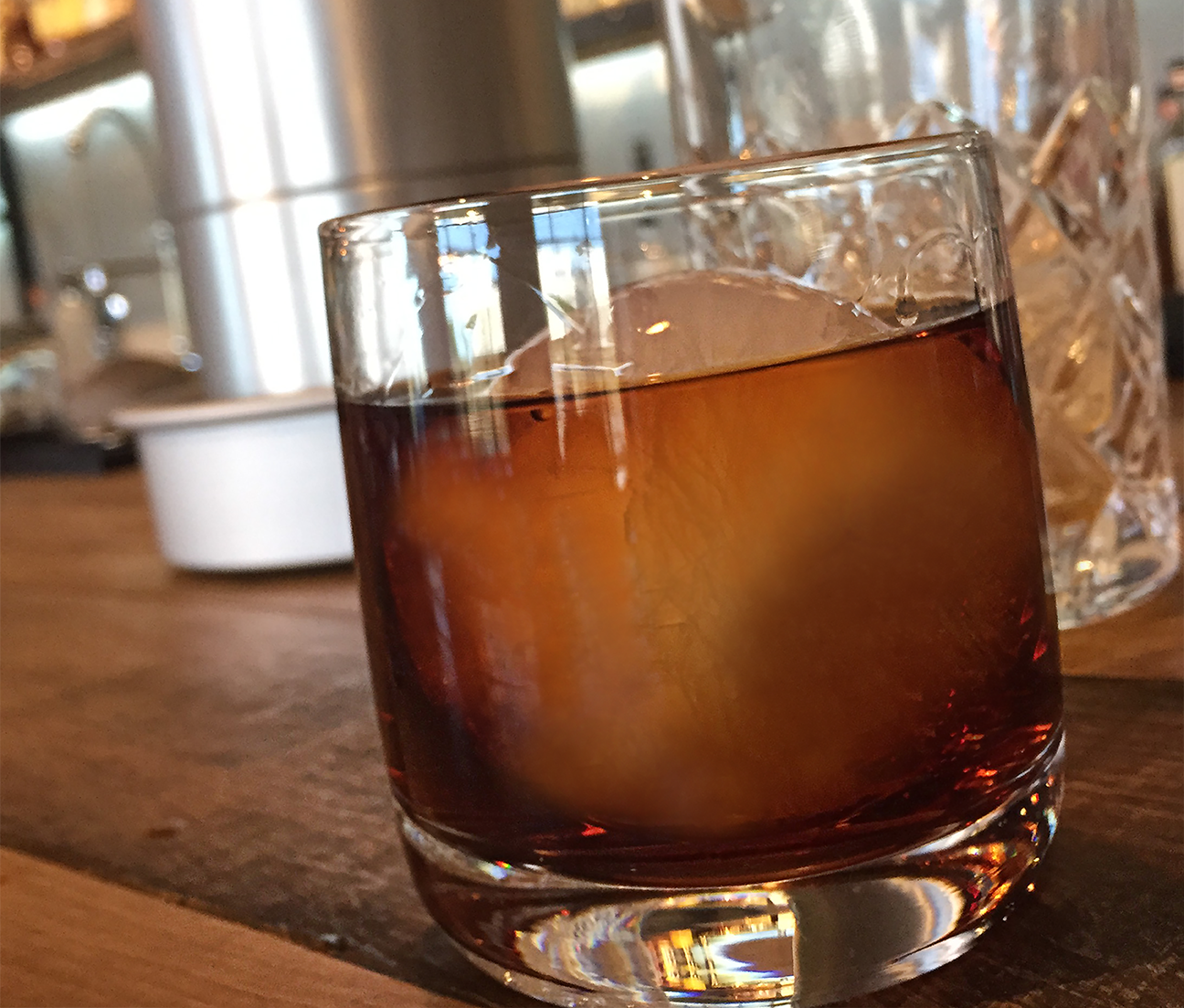 Whiskey Ice Co. Rye and Amaro Cocktail with Ice Ball.png