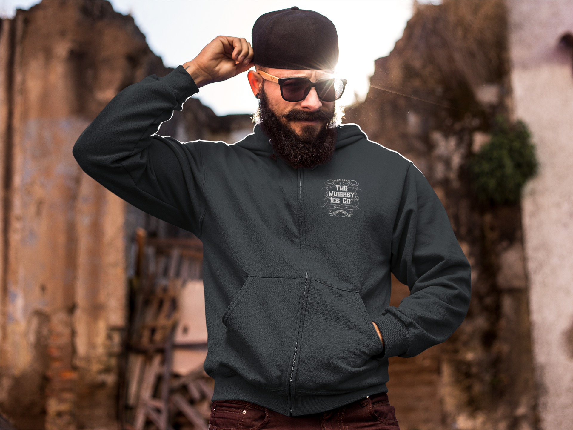 the-whiskey-ice-co-man-unisex-hoodie-zip-small-logo-front-asphalt.png