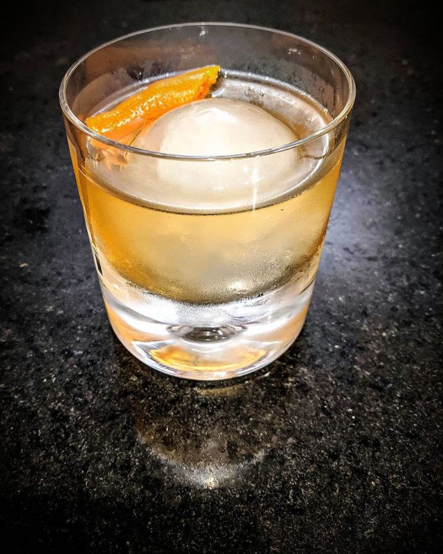 Midnight snack. #oldfashioned.  #Cheers  https://whiskey-ice.com/