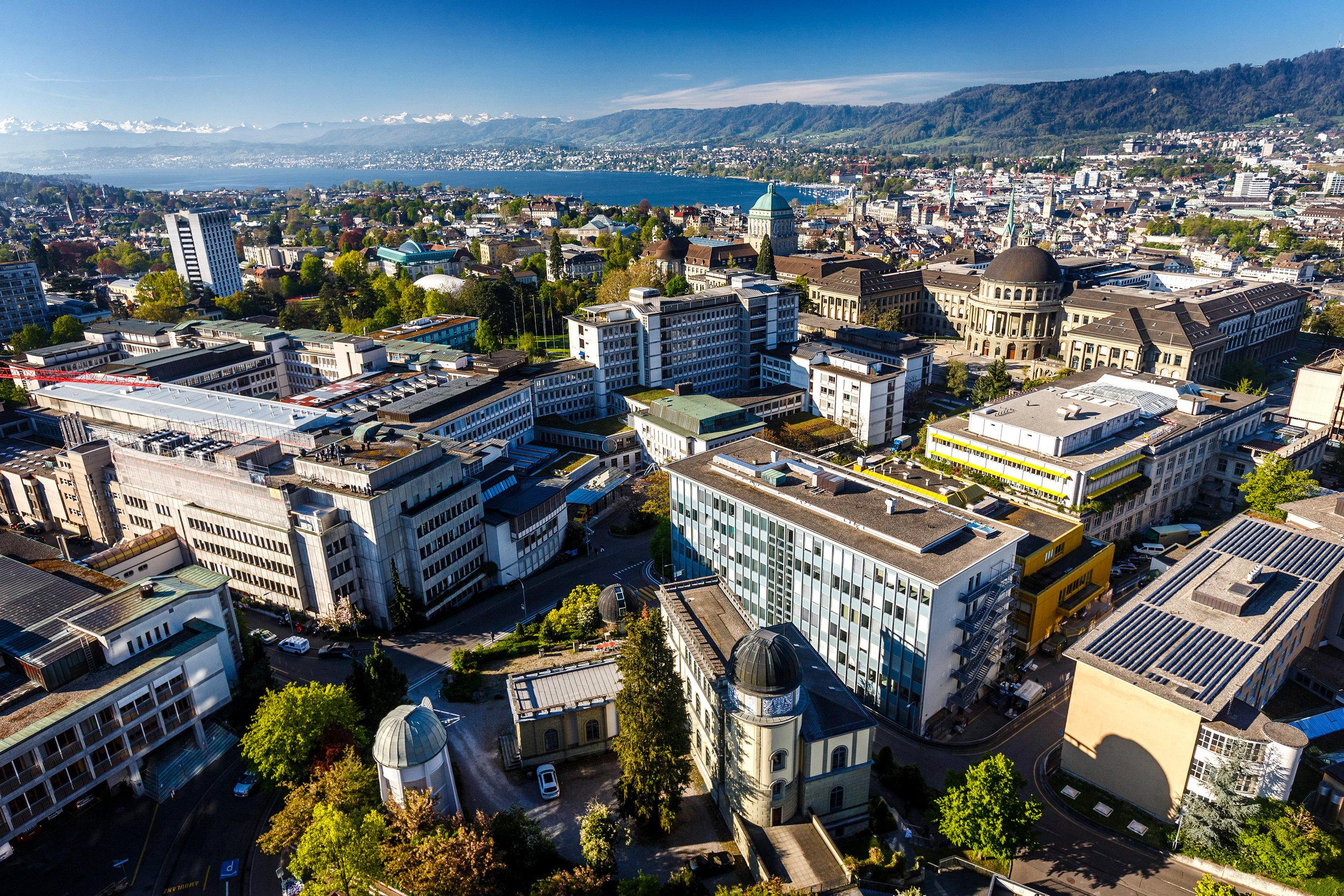 UniversitätsSpital Zürich mit Forschungspartnern Universität Zürich und ETH Zürich Foto:UniversitätsSpital Zürich