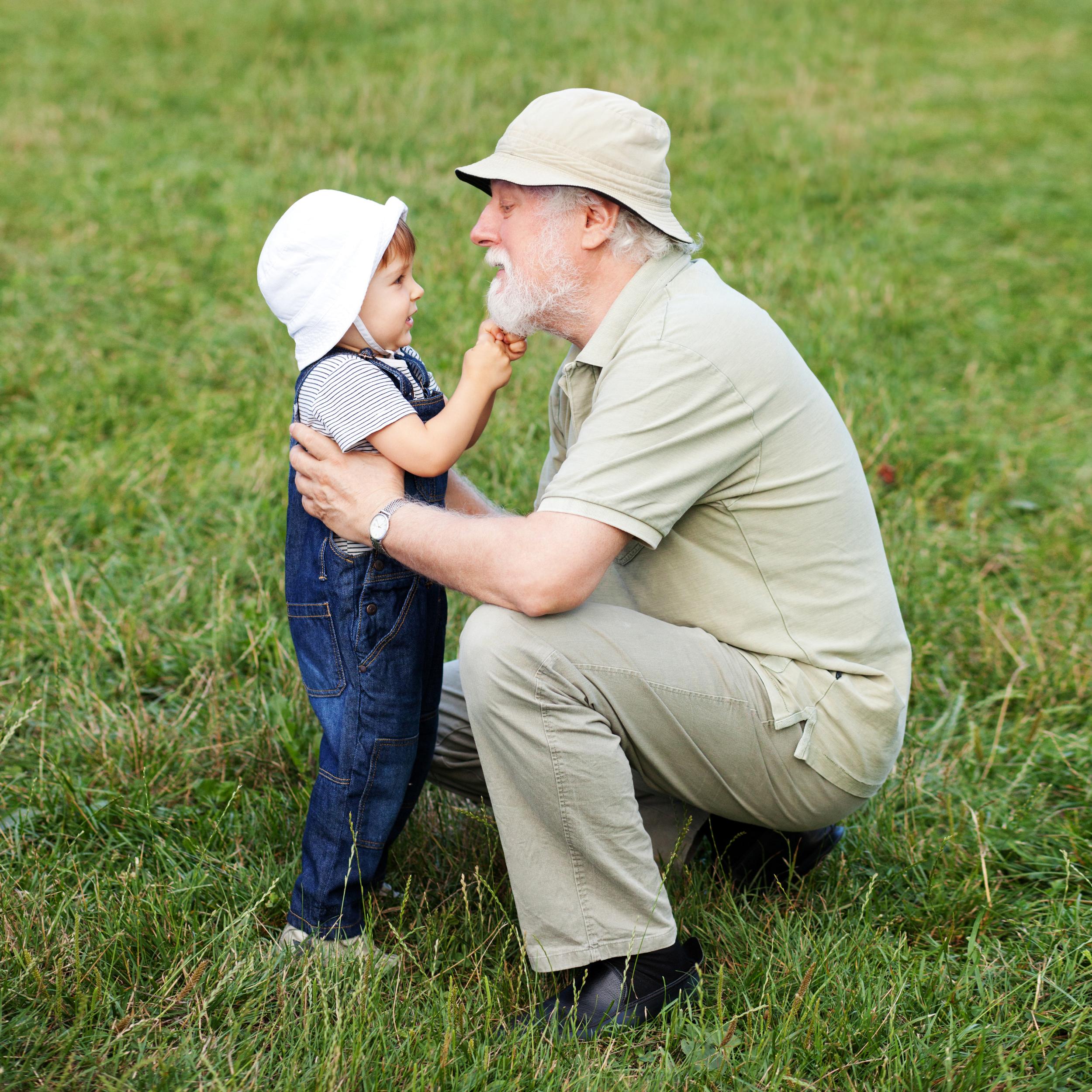 Grandfather-with-grandchild