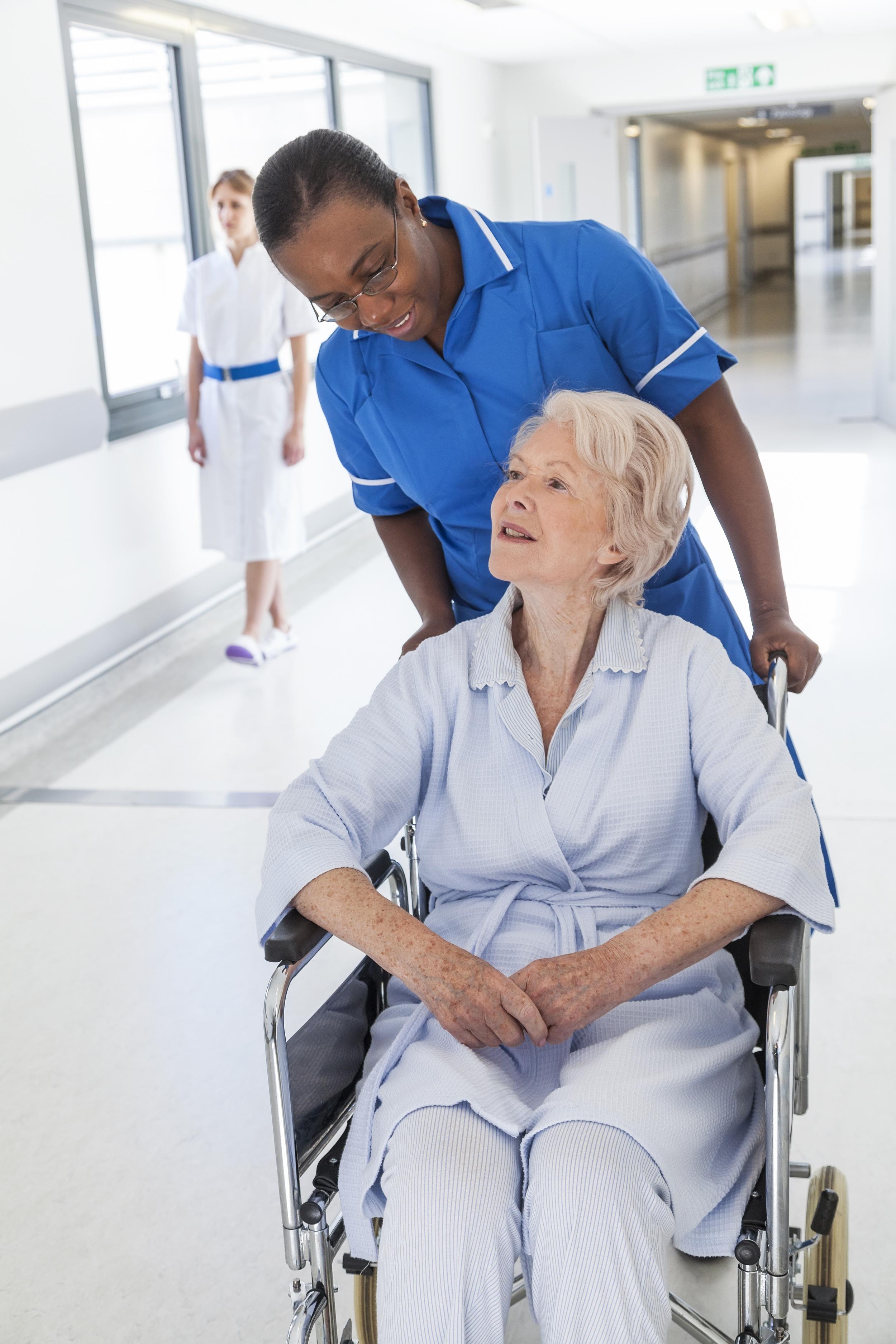 Woman-with-caretaker