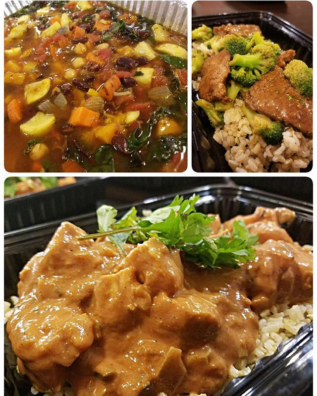 This weeks savory options, available at Sweet Natalie's Gluten Free Bakery:  Autumn Vegetable Soup, Beef and Broccoli, and Chicken Tikka Masala #cheftony #elevatefood #100daysofcleaneating #chicagofoodpic #instapic #instafood #foodie #chicagofoodie #chicagofoodscene #foodpic #healthyeating #cleaneating #eatright #eathealthy #eatclean #dinner #🍴#nofilter #glutenfree