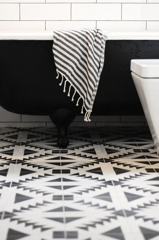 Apartment Therapy via The Cement Tile Shop