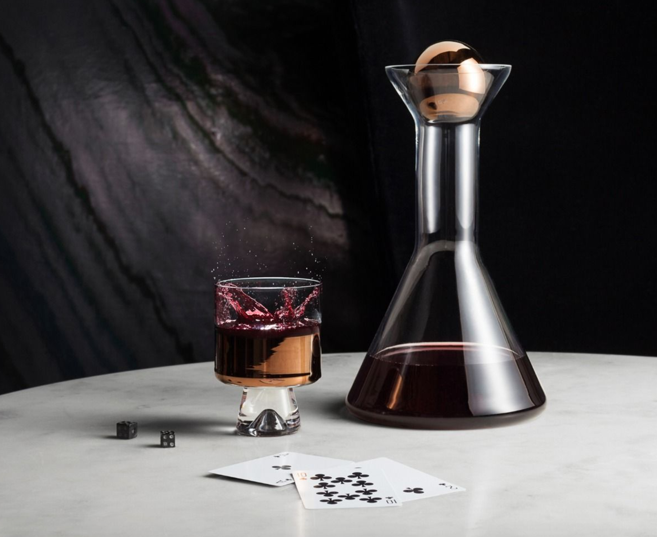 Holiday Gift Guide 2016 - Tom Dixon Decanter