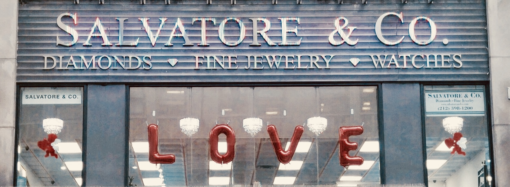 Salvatore and Co Valentines Storefront