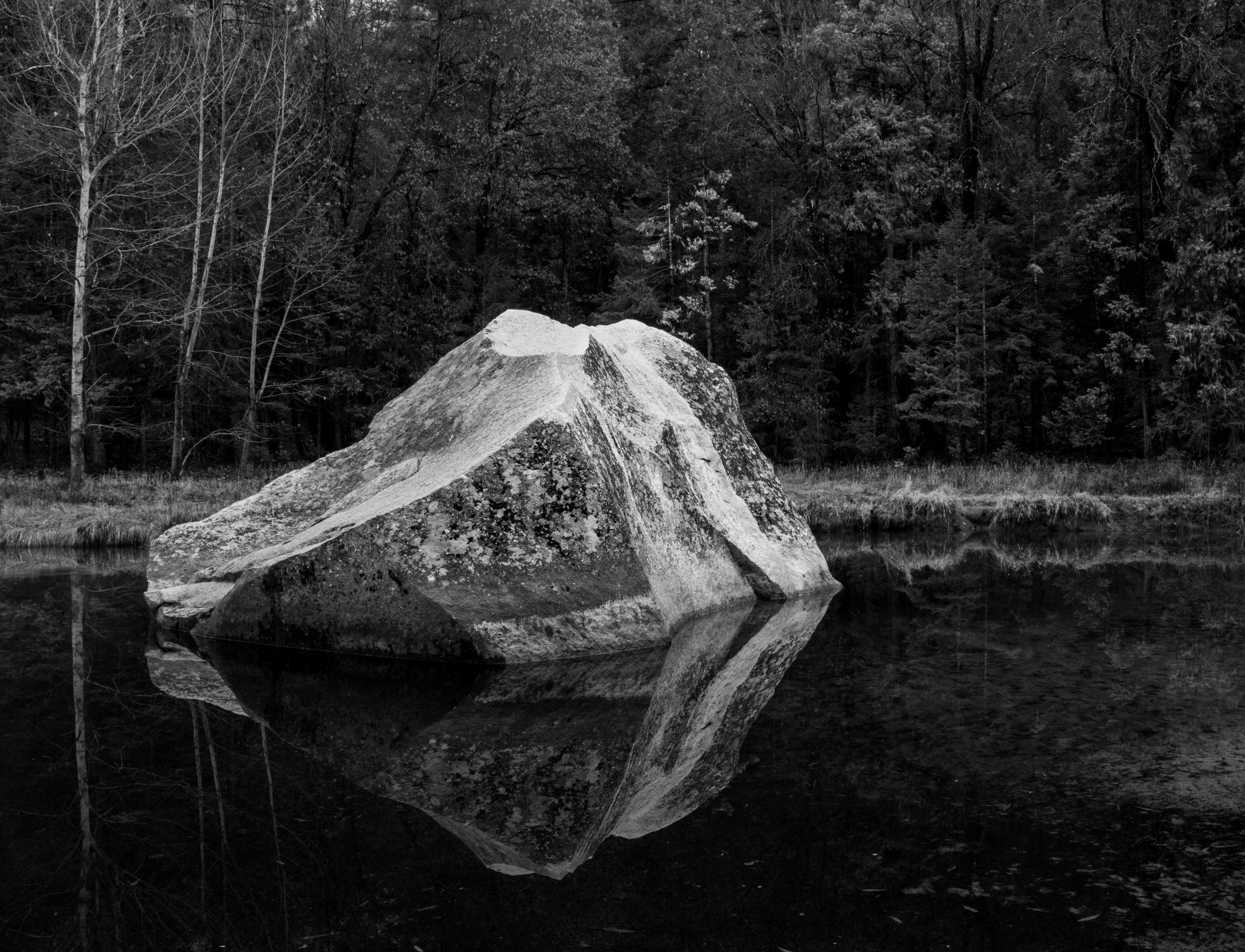 Rock, Mirror Lake