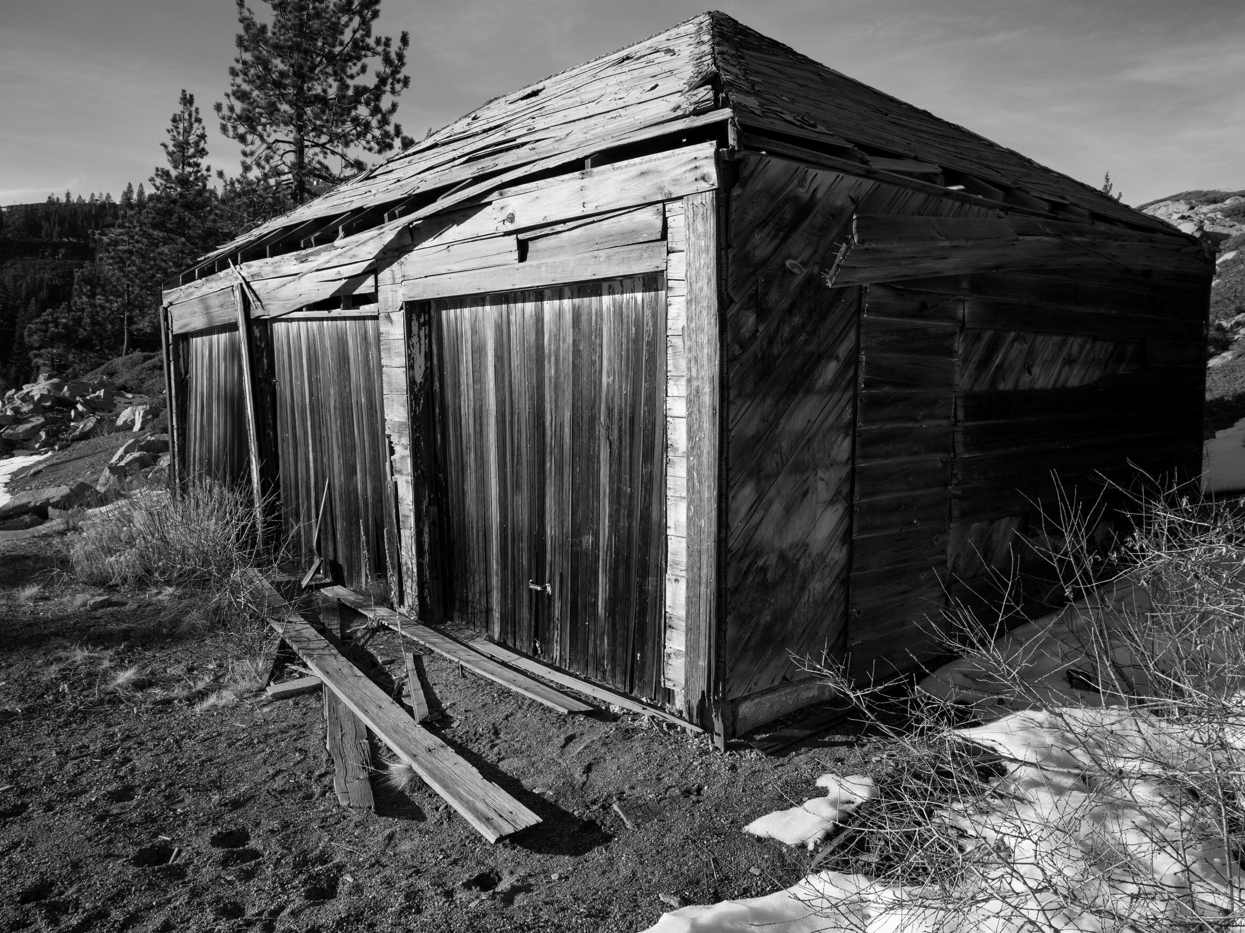 Old Shed, Summit