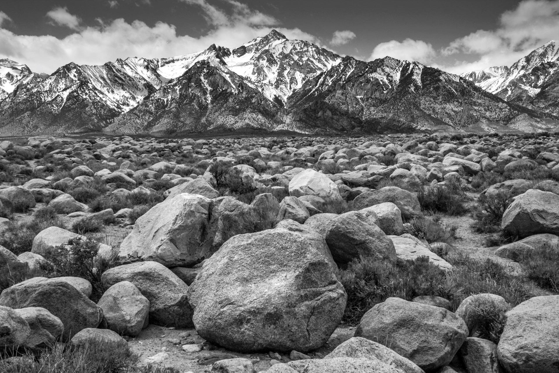 Mt. Williamson from Manzanar