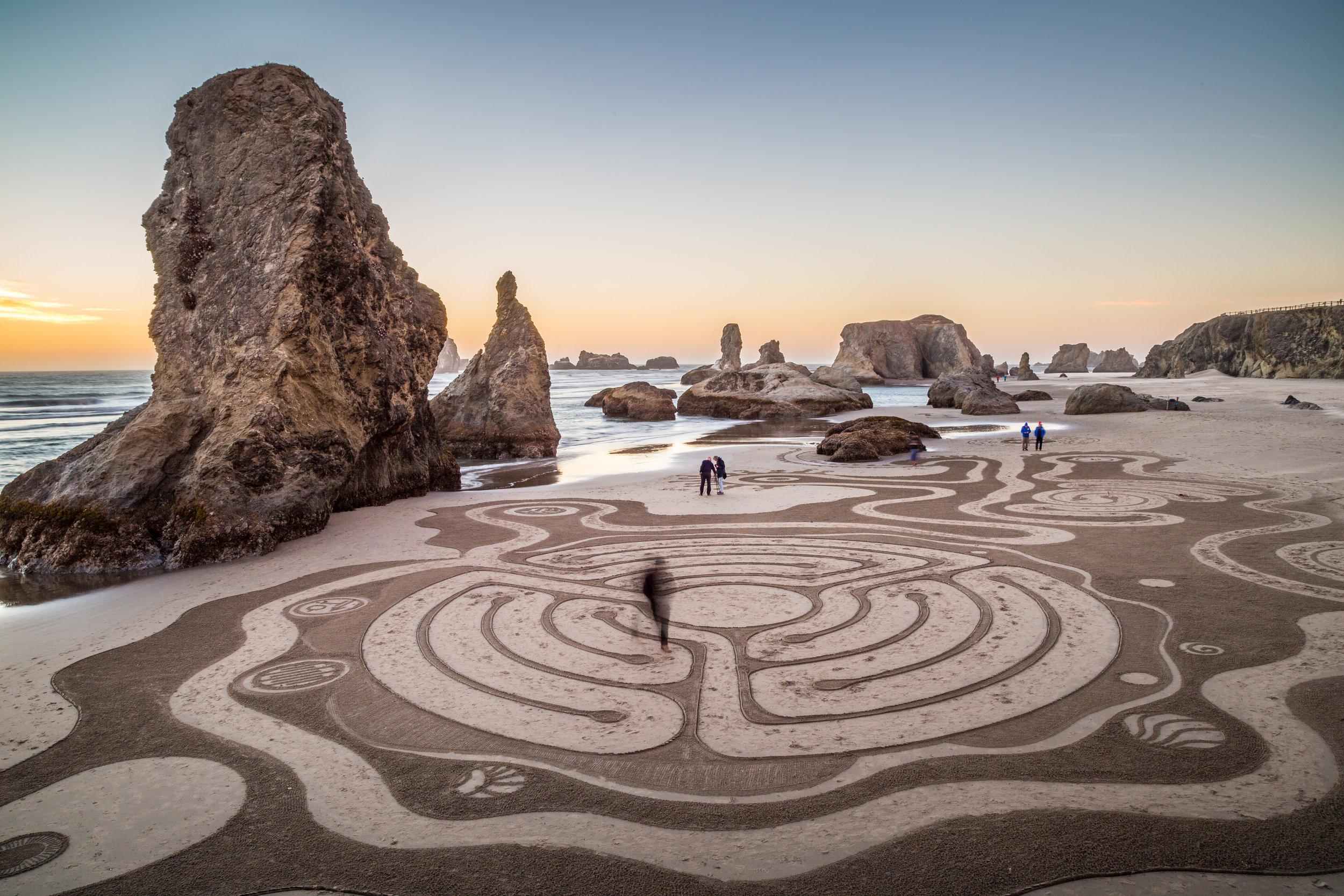 Labyrinth, Bandon Beach