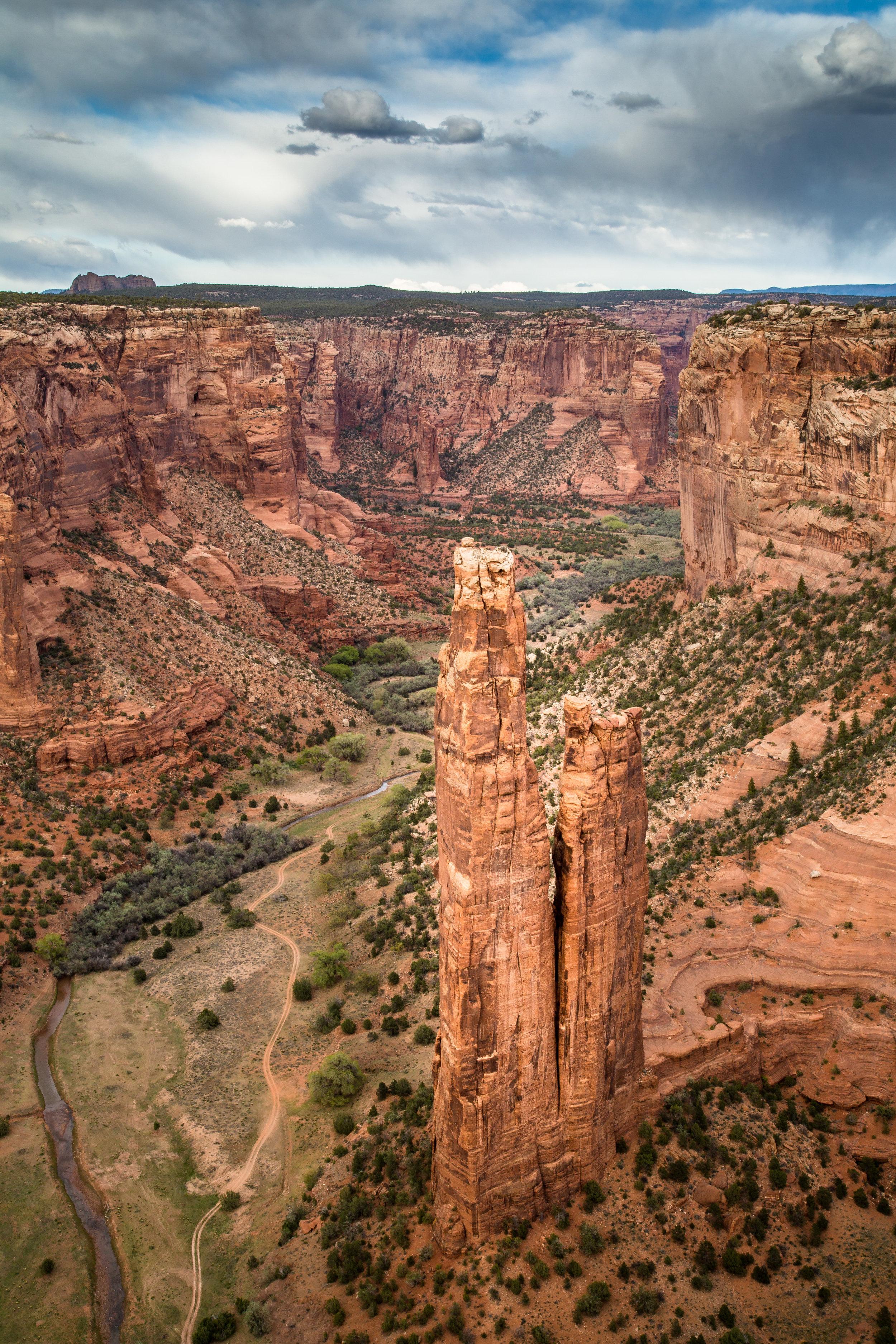 Spyder Rock, Canyon de Chelly
