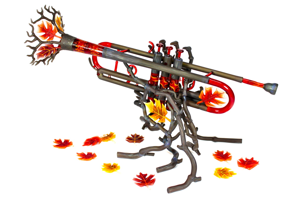 """AUTUMN TRUMPET"" Collaboration with Phil Siegel November 2014"