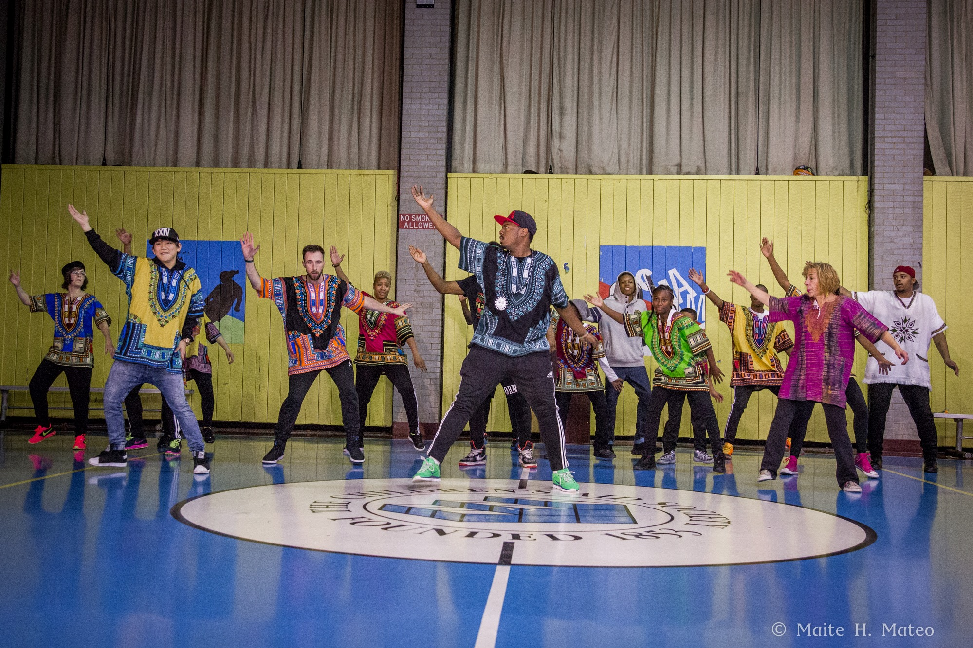 2015 Lite Feet Performance Workshop with Chrybaby Cozie at Dunlevy Milbank Center.