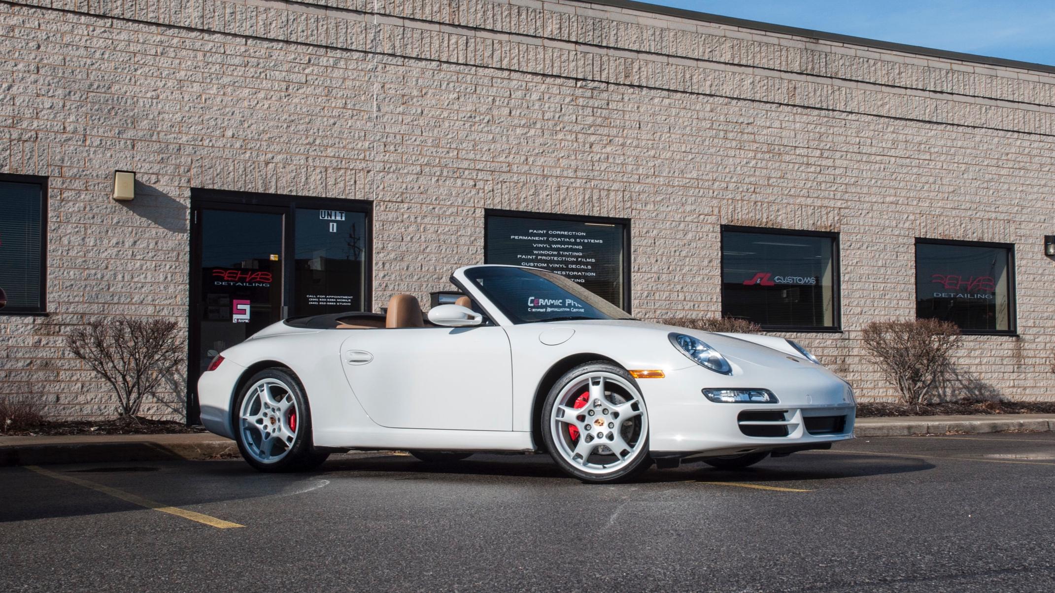 Porsche 911 Carrera S Cabriolet - Interior and Exterior Restoration, Rockstar Detail, Wheels Off